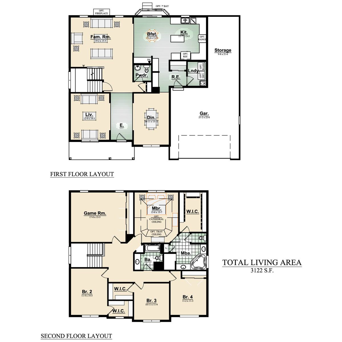 The Whitaker Floorplan - Halen Homes