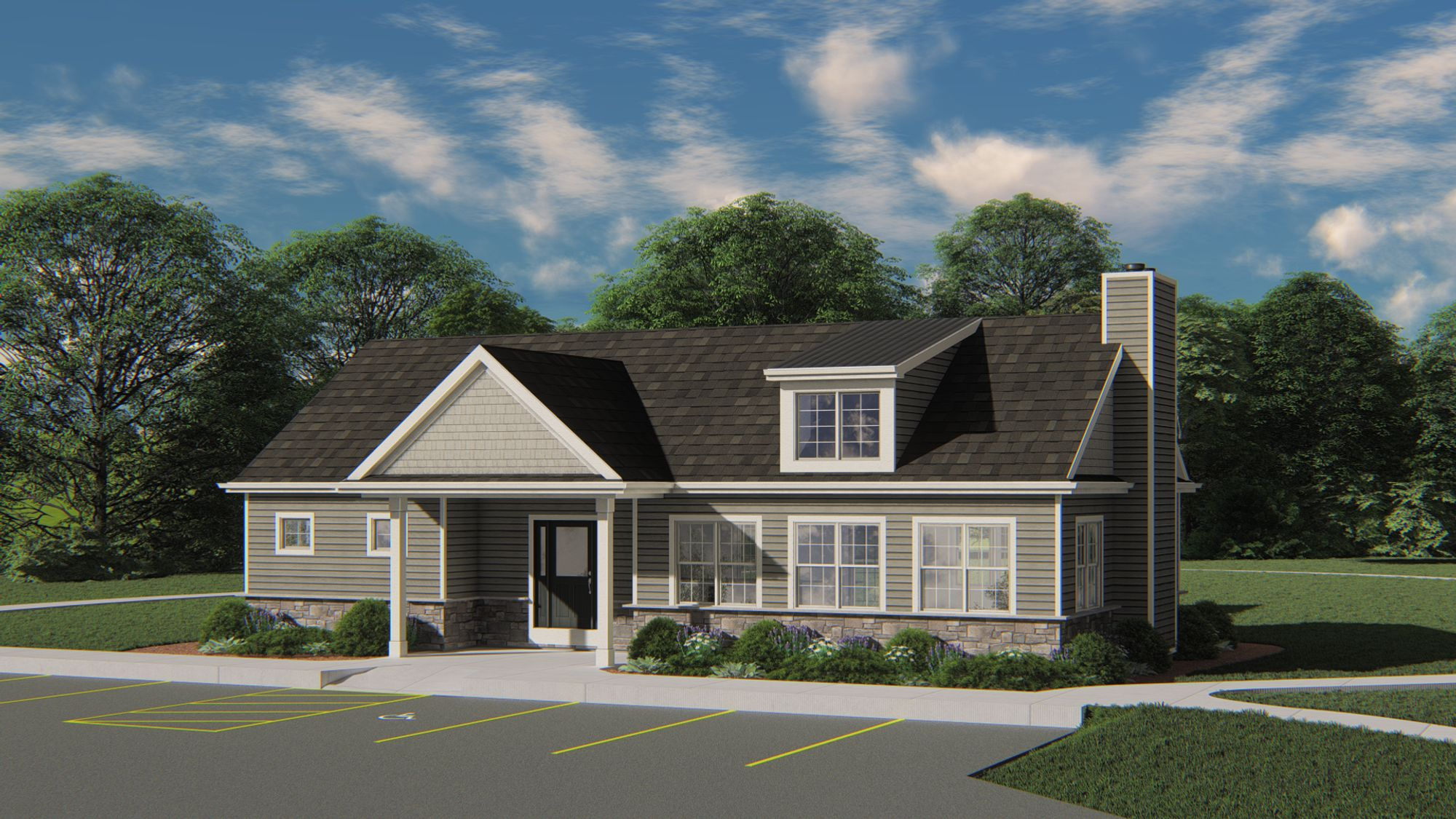 The Reserve at Parkway Ridge Clubhouse - Halen Homes