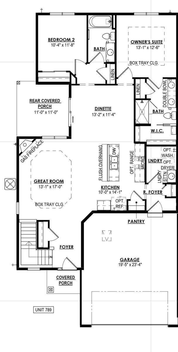 789 Bridlewood Drive Floorplan