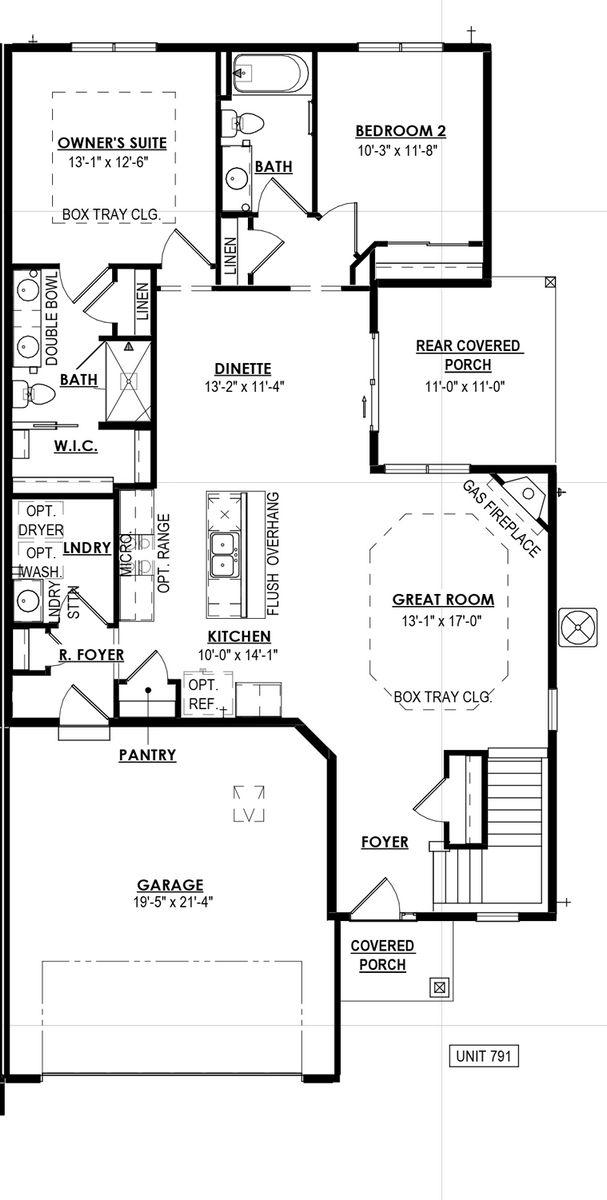 791 Bridlewood Drive Floorplan