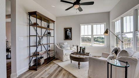 1398 Overlook Circle, Sunroom - Halen Homes