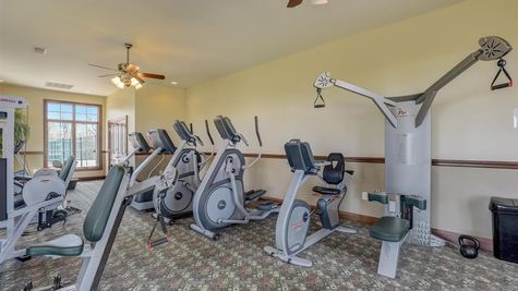 Bridlewood Clubhouse Exercise Room - Halen Homes