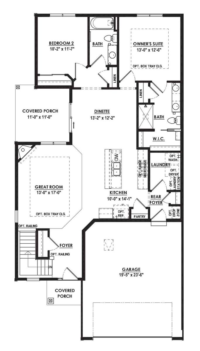 The Juliet Floor Plan - Halen Homes