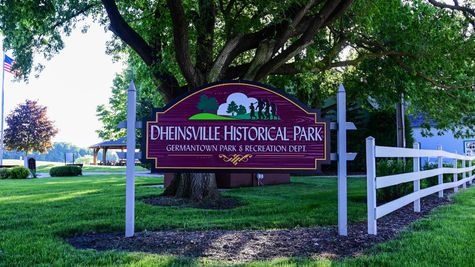 Dheinsville Park Sign Germantown