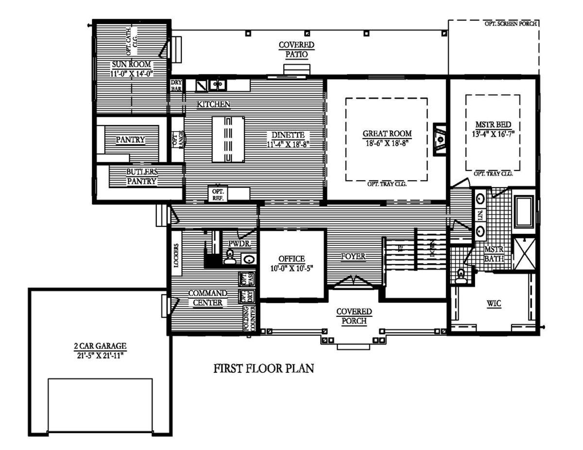 The Magnolia First Floor