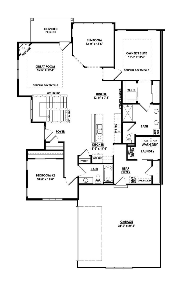 The Aspen Condominium Floor Plan - Halen Homes