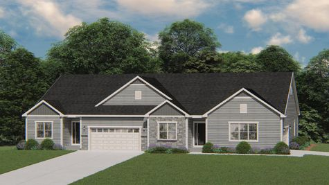The Charlotte Rendering - Halen Homes