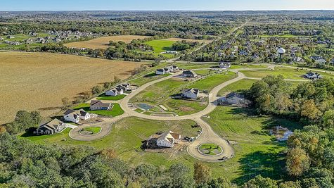 Aerial View of Overlook Trails, Hartland, WI - Halen Homes