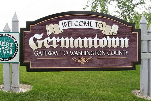 Germantown Welcome Sign - Halen Homes