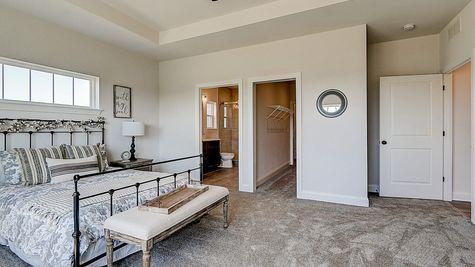 1398 Overlook Circle, Owners Suite - Halen Homes