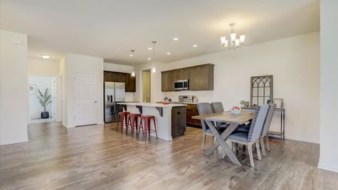 The Breckenridge Kitchen and Dinette - Halen Homes