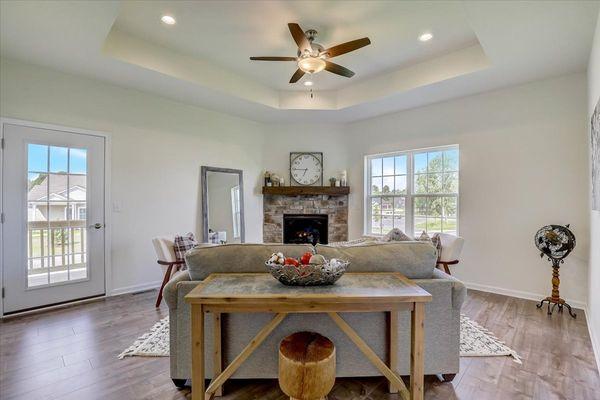 The Breckenridge Great Room - Halen Homes