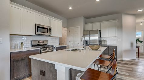 The Juliet Kitchen - Halen Homes
