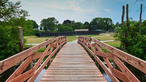 Wooden Bridge - Cedarburg, WI