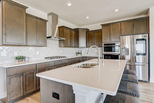 1398 Overlook Circle, Kitchen - Halen Homes