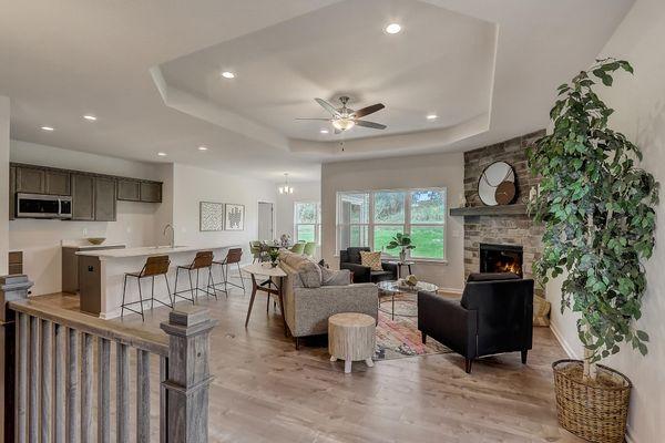 The Lillian, Open Floor Plan - Halen Homes
