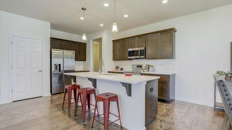 The Breckenridge Kitchen - Halen Homes