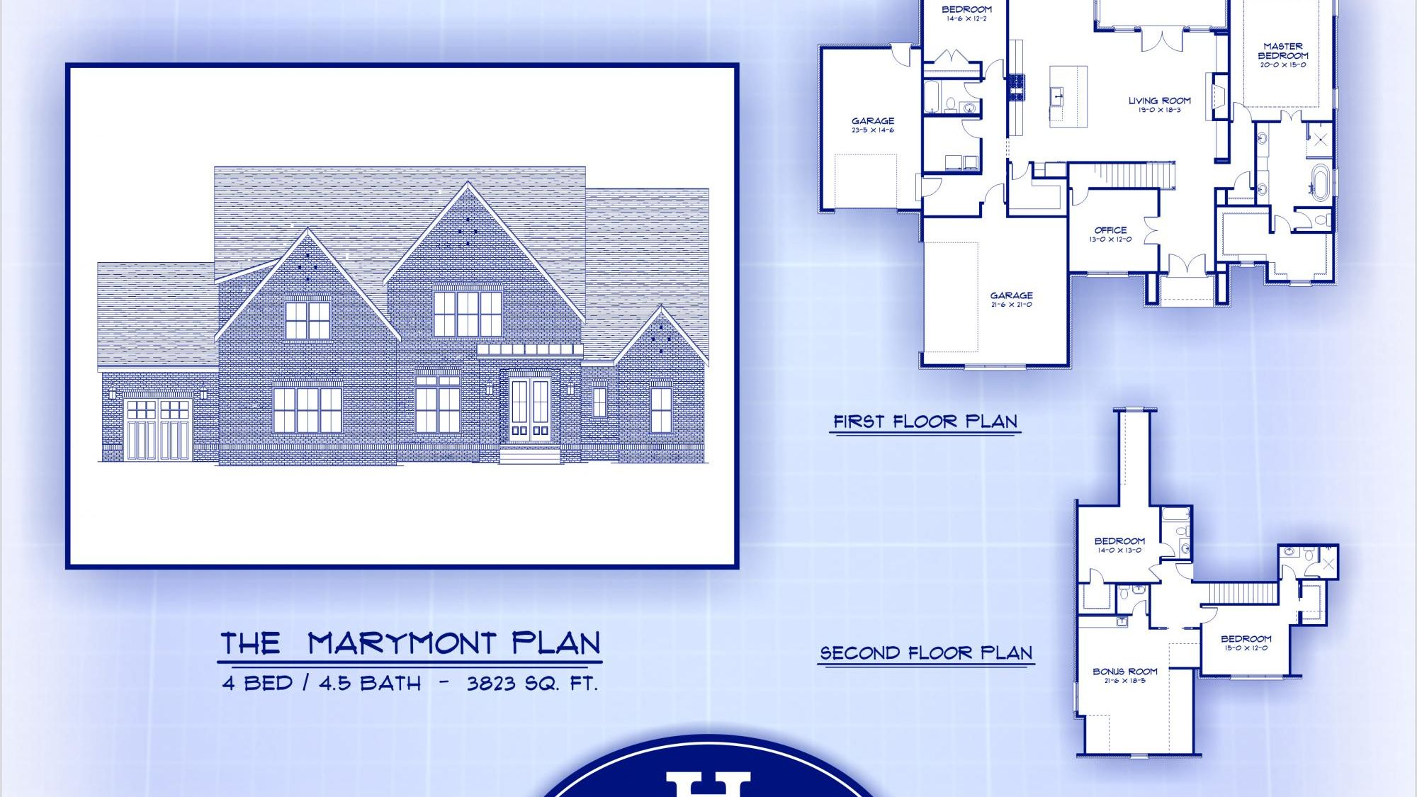 Harney Homes - The Marymont  Plan