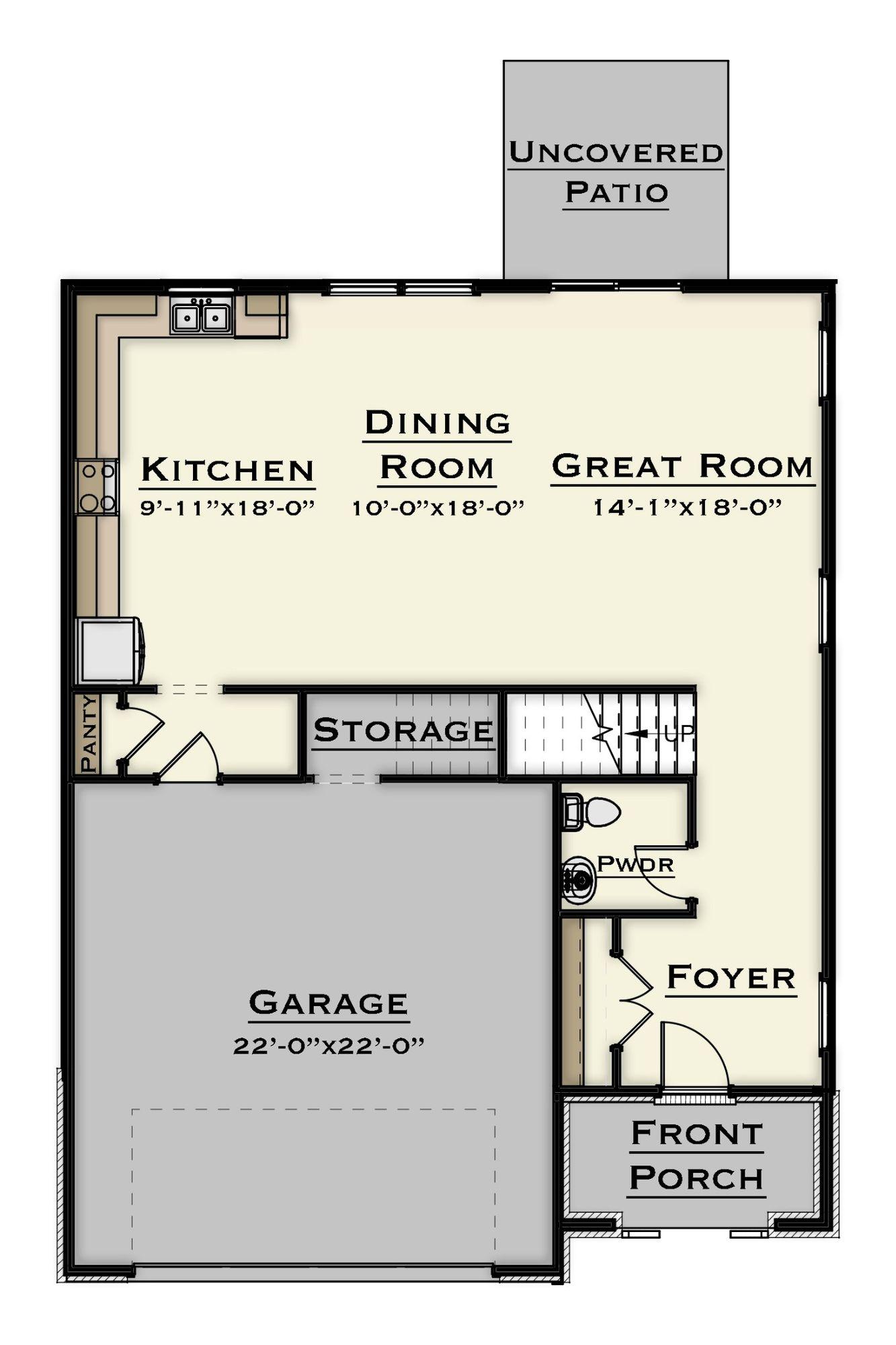 nest 1st floor