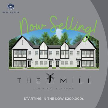 <p>We are now selling The Mill, Opelika's newest Harris Doyle Homes community! The Mill is where easy living meets convenience. Experience a maintenance-free lifestyle while being close to shopping and dining. The Mill features luxurious, yet affordable townhomes that offer 2 to 3 bedrooms, with 1,633 square feet of indoor living space, as well as a back porch that is perfect for relaxing or entertaining.<br/></p>