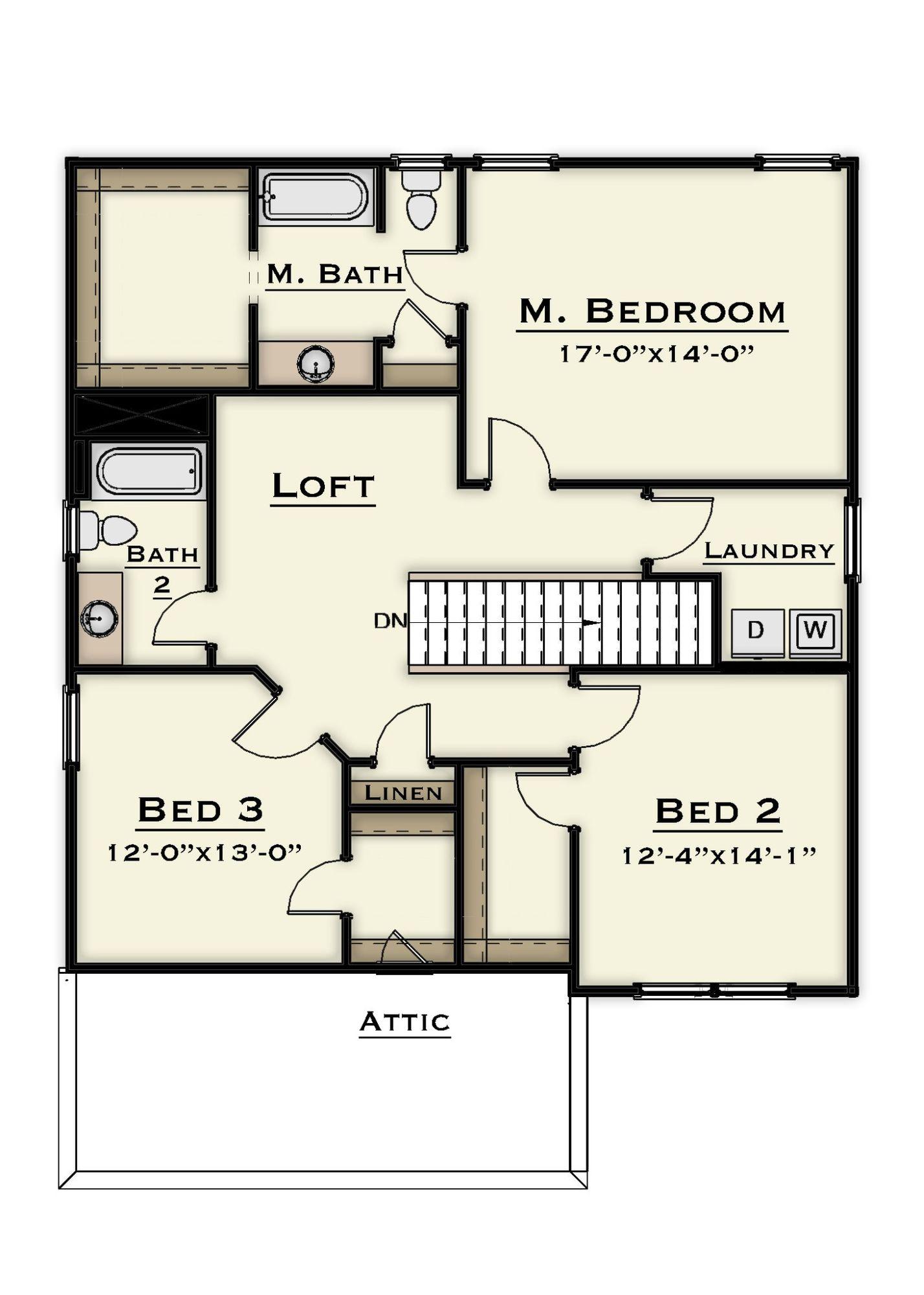 nest 2nd floor