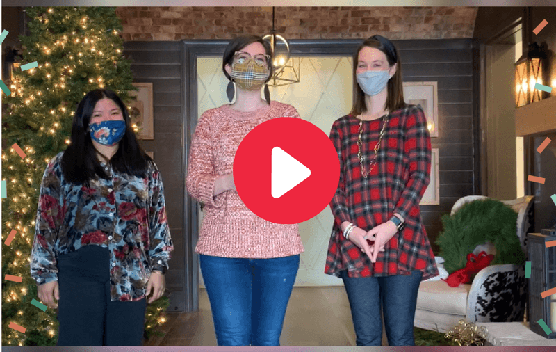(VIDEO) Watch the Harris Doyle Design Team Demonstrate Pro Tips for Decorating your Christmas Tree and Mantle for the Holidays