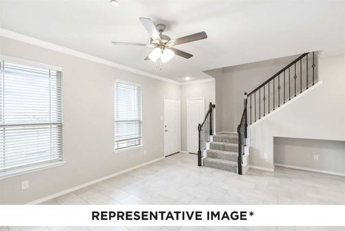 Travis Floor Plan Representative Interior