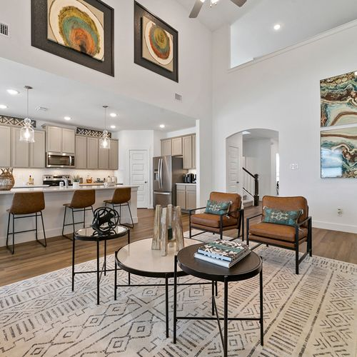 Landing at Providence model open floor plan 2 | HistoryMaker Homes