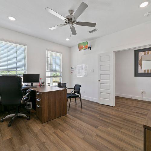 Landing at Providence model office | HistoryMaker Homes