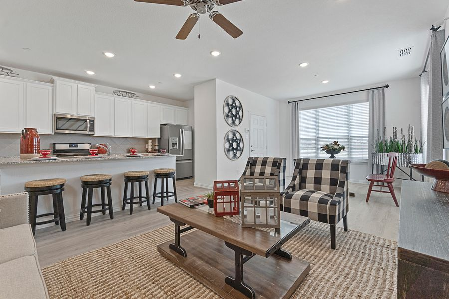 Townhome Welcome Section