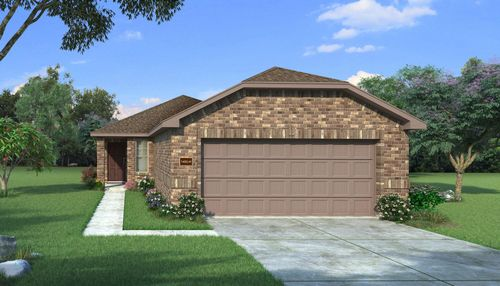 Benbrook with Elevation H
