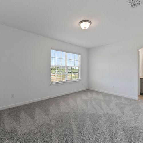 Landing at Providence model bedroom 5 | HistoryMaker Homes