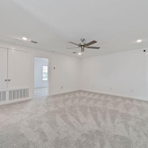 Landing at Providence model bedroom 4 | HistoryMaker Homes