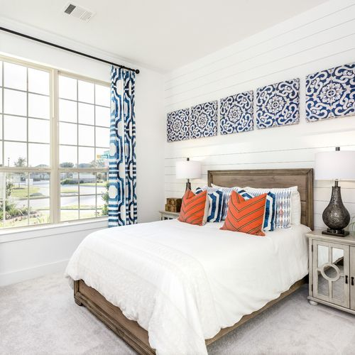 HistoryMaker Homes at Summer Lakes Model Bedroom 5