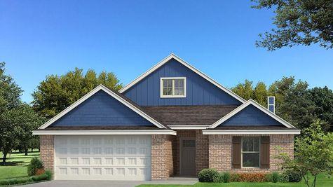 Homes by Taber Kamber A brick Elevation - Royal Blue