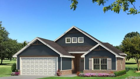 Homes by Taber Julie A2 Elevation - Navy Blue