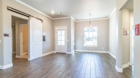 Homes by Taber Cornerstone Half Bath Floor Plan-12701 Bristlecone Pine Blvd