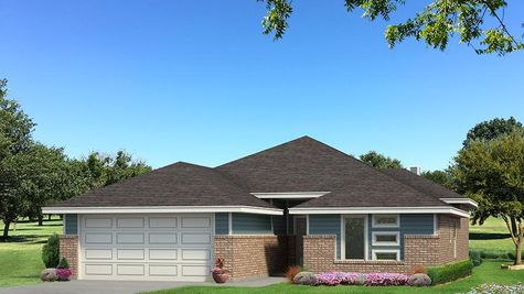 Homes by Taber Hunter B Elevation- Aqua