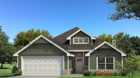 Homes by Taber Kamber A2 Floor Plan - Green