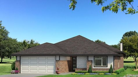 Homes by Taber Teagen B Elevation - Black and White