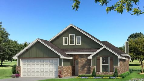 Homes by Taber Teagen A2 Elevation - Green
