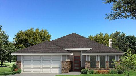 Homes by Taber Kamber B Elevation Floor Plan -Light Grey