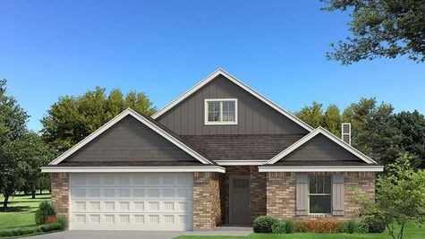 Homes by Taber Kamber A Brick Elevation -Shades of Grey