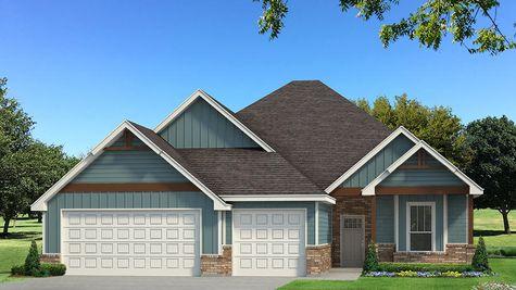 Homes by Taber Mallory Bonus Room Siding Elevation