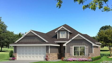 Homes by Taber A Siding Elevation - Shades of Grey