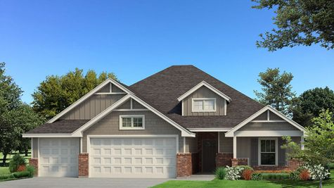 Homes by Taber Example of Blue Spruce Floorplan with Siding