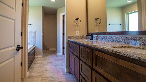 Homes by Taber Hummingbird Half Bath Floor Plan-3412 Huron Circle