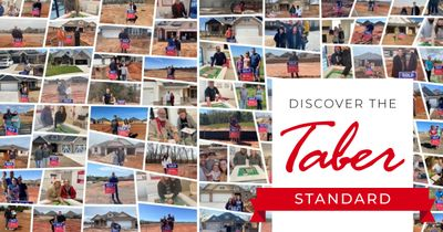 Montage of Taber home buyers