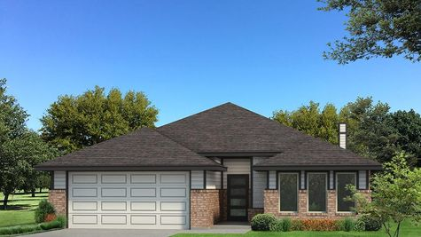 Homes by Taber Kamber B Elevation Floor Plan - Black and White