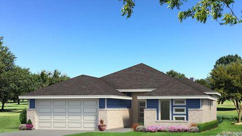Homes by Taber Julie B Elevation - Royal Blue